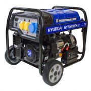 Hyundai HY7000LEK-2 5.5kW / 6.8kVa* Recoil & Electric Start Site Petrol Generator